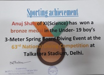 Sporting Achievement